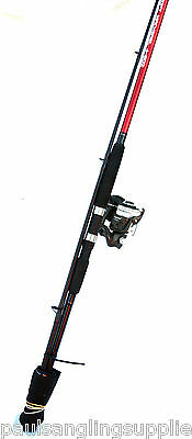 Shakespeare 10 ft / 3m Rod & Reel Combo Pier / Rock Mackeral Sea Fishing