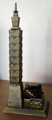 TAIPEI 101 WORLD FINANCIAL CENTER Metal Souvenir Building Skyscraper Taiwan