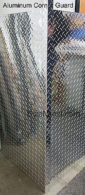 0.063 4ft Aluminum Diamond Plate Outside Corner Guard 3003 H22 - 1.5x1.5x48