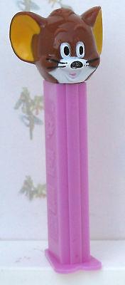 PEZ Spender Jerry von MGM 1991 topp erhalten rosa mit Fuß selten