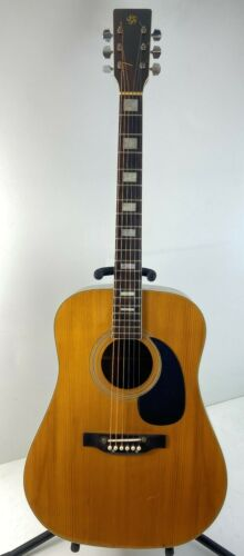 Awesome 1970s MIJ Acoustic Japan Guitar Copy of Nazereth, PA Guitar