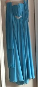 Womens size small Blue Gown