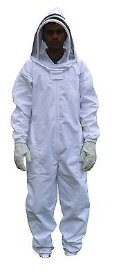 XS Professional Bee Suit with Veil beekeeping bee keeper Costume Free Shipping