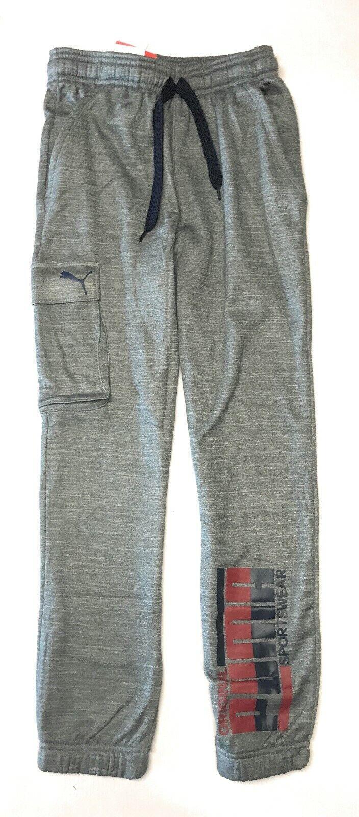 PUMA Big Boys' Cargo Fleece Pants