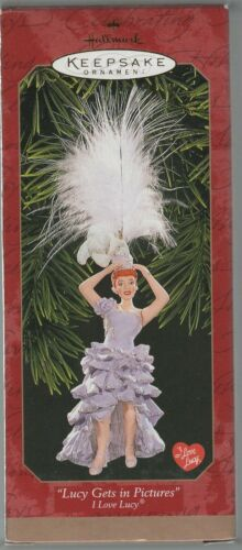 HALLMARK 1999 I LOVE LUCY LUCY GETS INTO PICTURES ORNAMENT 1 owner Mint