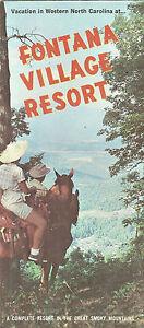 Fontana-Village-Resort-Brochure-near-Bryson-City-North-Carolina-Smoky-Mountains