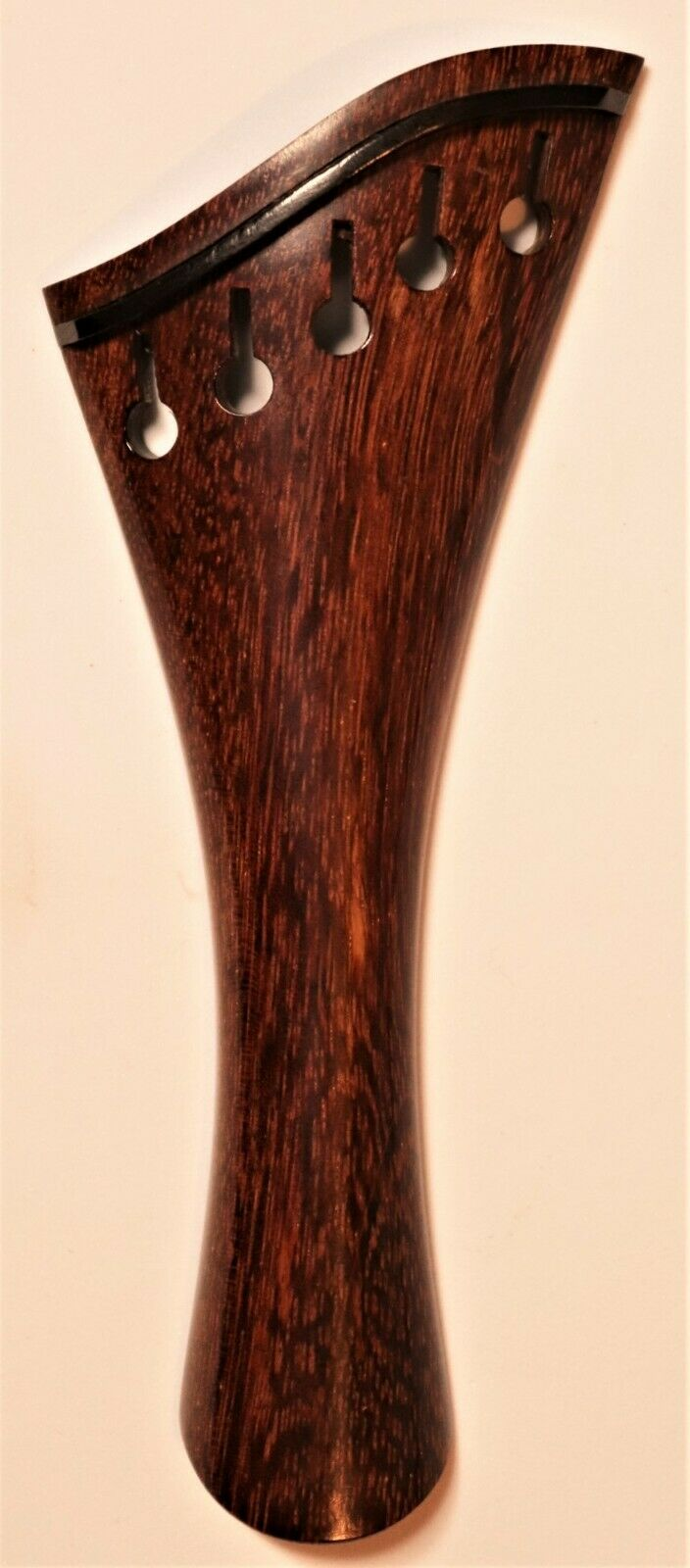Violin 5 String Hollow Harp Tailpiece 4/4 Tamarind Wood French Model Item 1 - $28.50