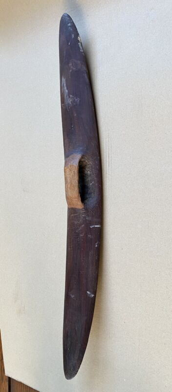 Nice Old Aboriginal Curved Parrying Shield
