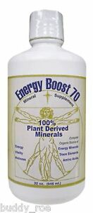 Morningstar Minerals Energy Boost 70 Fulvic Acid Natural Supplement 32 oz.