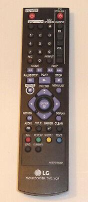 LG Fernbedienung AKB73155301 DVD Recorder VHS Combo RCT689H RCT699H u.a. Lg Combo