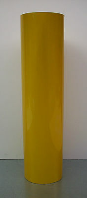 3m 071 Yellow Reflective Vinyl 15 X 12 Sign Plotter Cut - Decal Roll