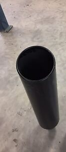 "36"" long 4"" inlet 8"" outlet exhaust tip"