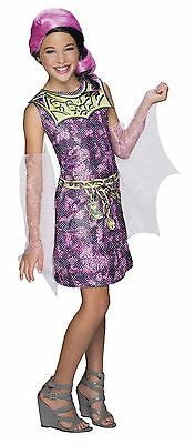 Kids Draculaura Costume (Girls Monster High Draculaura Costume Draculara Dracula Laura Pink Kids)