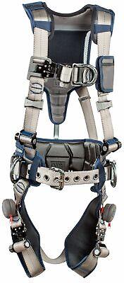 3m Dbi-sala Exofit Strata Construction Harness 1112541 - Grey - Blue - Med