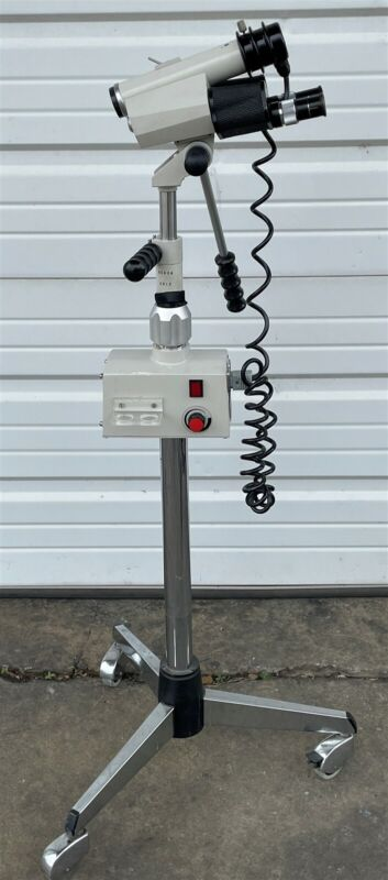 FRIGI SCOPES INC S-51 PORTABLE MEDICAL VIDEO ELECTRONIC COLPOSCOPE WITH STAND