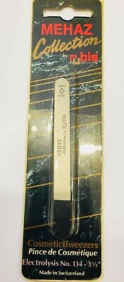 Mehaz by Rubis Tweezers No. 134 - 3 1/2""