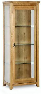 Monza-solid-oak-furniture-glazed-display-cabinet-unit