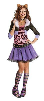Monster High Clawdeen Wolf Erwachsene Damen Kostüm Halloween ()