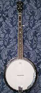 SX Country left handed 6-String Banjo wth Hardcase Panania Bankstown Area Preview