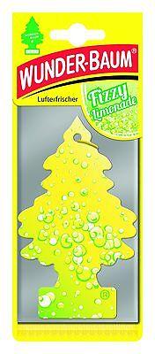 Wunderbaum Fizzy Limonade - Original Lufterfrischer Duftbaum für Auto & Haushalt