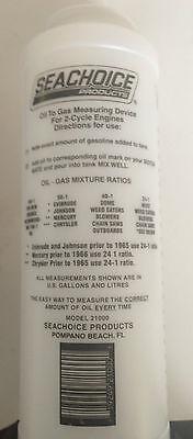 Outboard Motor Oil Mix Bottle Good For Johnson Evinrude Mercury Suzuki Yamaha