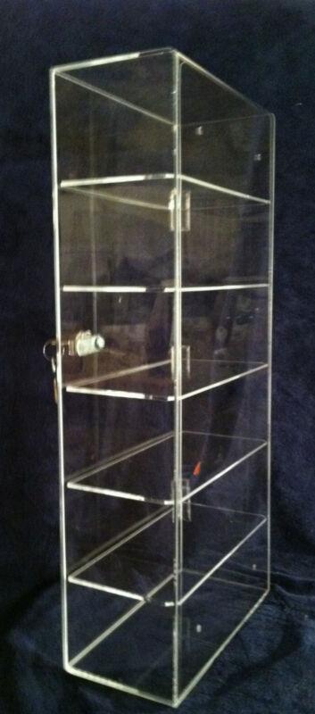 USA- SHOT Glass Holder Display, TALL Shot Glass, MINI Liquor Bottle Display