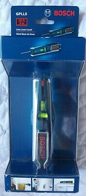 New Bosch Line And Point Laser Level 16ft