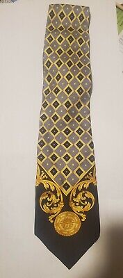 Gianni Versace Mens Tie Mint Condition Purchased at Authentic Flagship Store