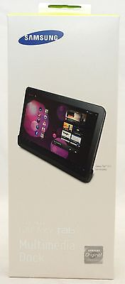 NEW GENUINE Samsung Galaxy Tab 10.1 Desktop Multi-Media Dock Cradle Stand tablet