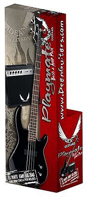 DEAN EDGE 09 Bass Pack - CBK W/Amp & Accessories