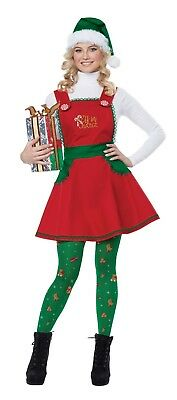 California Costumes Elf in Charge Santa Christmas Women Costume 01491