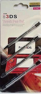 4pcs Metal Retractable Stylus Touch Pen For Nintendo 3DS XL N3DS LL US