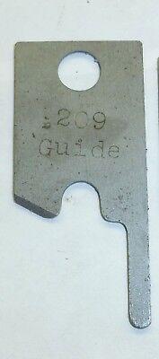 New - .209 Round Wire Guide Blades - Eubanks 2600 2700 Wire Stripper