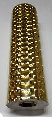 Gold Mirror Lens Sign Plotter Cutter Vinyl Roll