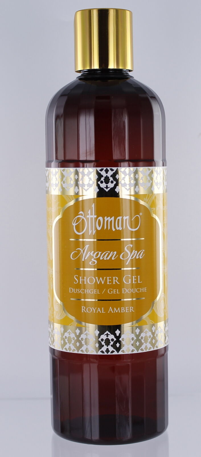 Duschgel Royal Amber 400 ml ph neutral alle Hauttypen Kräuter Ottoman Argan Spa