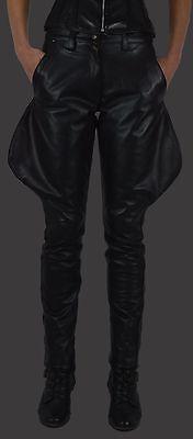 AW-801 Damen lederchaps,lederhose,leather trousers,Reiter leder hose,leder chaps
