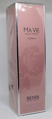 Hugo Boss Ma Vie Pour Femme Florale 75 ml EdP Eau de Parfum 75ml NEU & OVP (Boss Hugo Boss Parfüm)