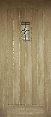 Oak External Front Door Croft / Cottage / Hobbs / Chesham 78x33 (1981x838x45mm)