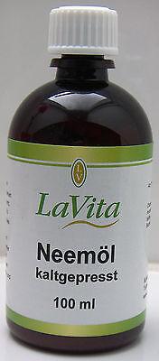(4,95/100ml) Neemöl, Niemöl, kaltgepreßt, 100 ml