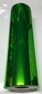 Fluorescent Green Chrome Mirror Sign Plotter Cutter Vinyl Roll