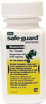 Safeguard Goat Dewormer 125ml Wormer  Free Shipping