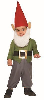 Garden Gnome Child Infant 12-24 Halloween Costume](Garden Gnome Halloween Costume Infant)