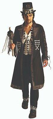 Hex Voodoo Hexe Arzt Erwachsene Herren Halloween Kostüm (Voodoo-hexe Halloween-kostüme)
