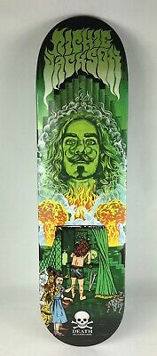 "Richie Jackson Pro deck - Death Skateboards 8.25 "" Smoke Mirrors - free grip"