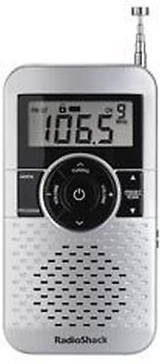 Radioshack Am Fm Digital Pocket Radio  Pl1 3157 1201475 Ug