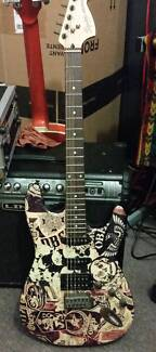 Fender Squire Electric Guitar (OBEY Series) St Helens Park Campbelltown Area Preview