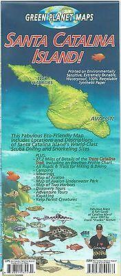 - Santa Catalina Island California Dive & Snorkel Waterproof Map by Frank Nielsen