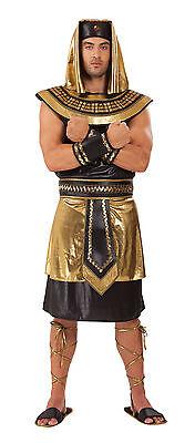 Taglia unica ANTICO # God faraone egiziano re da uomo adulto VESTITO COSTUME