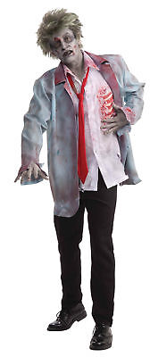 Zombie Man Adult Mens Costume Scary Spooky Theme Party Election Formal Halloween](Election Themed Halloween Costumes)