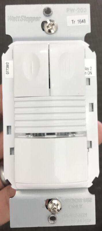 Wattstopper PW-203-W, PIR Multi-Way Wall Switch